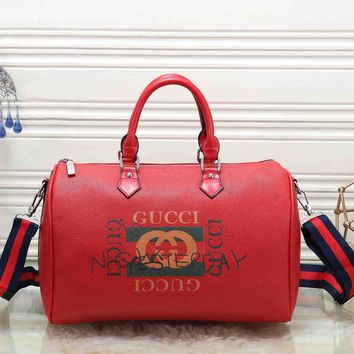 *Gucci* Fashion Zipper Travel Bags Tote Handbag