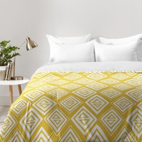 Heather Dutton Diamond In The Rough Gold Comforter