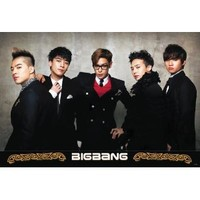 "BIG Bang ""Dressed in Black Suits"" K-pop Poster- Rare New - Image Print Photo"