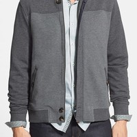 Men's Ted Baker London 'Deklan' Shawl Collar Full Zip Bomber Jacket