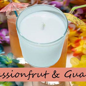 Passionfruit and Guava Scented Candle in Tumbler 13 oz