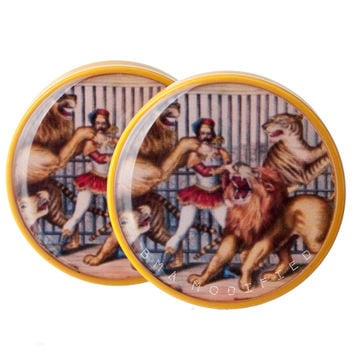 Lion Circus Plugs (2mm-27mm)