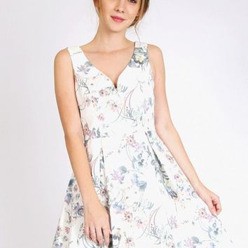 Butterfly Kisses Floral Dress