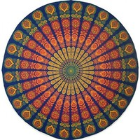 Multicolor Bohemian Mandala Tapestry Roundie Home Decor