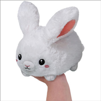 Mini Squishable Fluffy Bunny: An Adorable Fuzzy Plush to Snurfle and Squeeze!