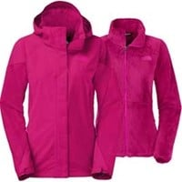 Gliks - The North Face Boundary Triclimate Jacket for Women in Dramatic Plum