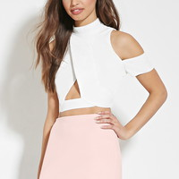 Scuba Knit Mini Skirt | Forever 21 - 2000168207