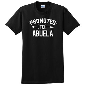 Promoted to abuela  pregnancy reveal baby shower gift T Shirt