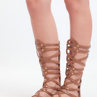 Amorie Gladiator Sandals In Tan By Report