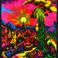 Lost Horizon Black Light Poster