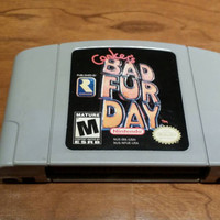 Conkers Bad Fur Day - Nintendo 64 console system game - free shipping  - Rare