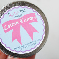 Cotton Candy Lip Balm with SPF 15 - 1oz