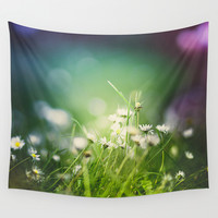 I tripped again Wall Tapestry by HappyMelvin
