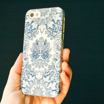 Indigo iPhone Case, Bohemian iPhone 5 Case, Pattern iPhone 5S Case, 5C Case, 4S Case - Samsung Galaxy, Boho iPhone 6 Case #boho #bohemian #b