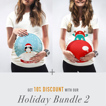 Holiday Bundle 2 / The Snow Globe + Rudolph
