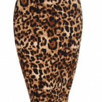 Leopard Print Pencil Skirt 2