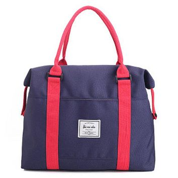 Women Oxford Duffel Bag Casual Outdoor Tote Bags Fitness Gym Bag