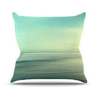 "Sylvia Cook ""Beach"" Throw Pillow"