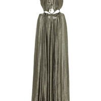 Metallic Aphrodite Grecian Ring Dress | Moda Operandi