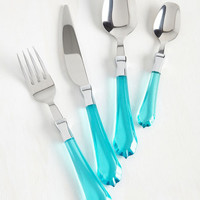 On the Bite Side Cutlery Set | Mod Retro Vintage Kitchen | ModCloth.com