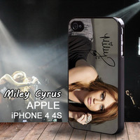 Limited Edition Miley Cyrus Autograph iphone 4 case iphone 4S Miley Ray Cyrus Signatures Case