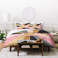 Elisabeth Fredriksson Happy Sunshine Duvet Cover