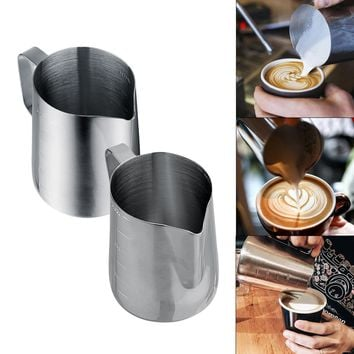350ml/600ml Thickened Stainless Steel Espresso Coffee Milk cup mugs caneca thermo Frothing Pitcher Steaming Frothing Pitcher