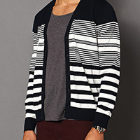 Multi-Striped Cardigan