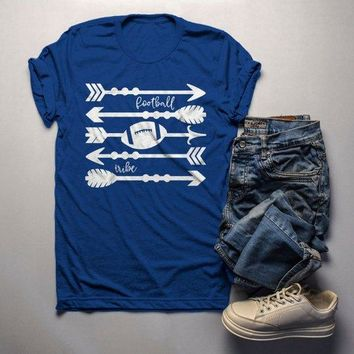 Men's Football Tribe T Shirt Arrows Football Tshirt Boho Football Shirts Game Day TShirts