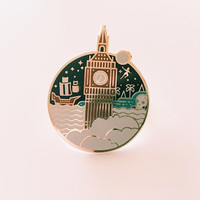 Off To Neverland Pin