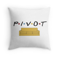 PIVOT Throw Pillow