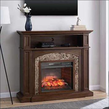 "Baycliff 51.5"" Fireplace with Marble"