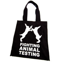 FIGHT ANIMAL TESTING BAG