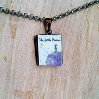 The Little Prince - Antoine de Saint-Exupéry - 2 cover options - Literary Locket -  Book Cover Locket Necklace