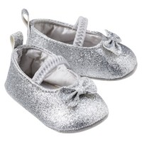 Just One You™Made by Carter's® Newborn Girls' Mary Jane Shoe - Silver NB