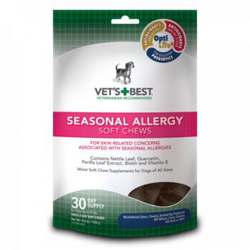 Vet's Best Seasonal Allergy Support Soft Chews 30Ct