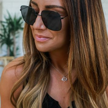 Bright & Breezy Sunglasses - Black
