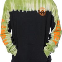 Honey Brand Co Street Bombers Tie Dye Hoodie