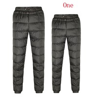 Moncler Couple Fashion Casual Pants Trousers