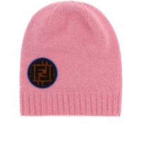 Wool and cashmere beanie