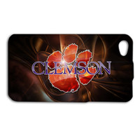 Clemson Tigers Custom Case for iPhone 5/5s and iPhone 4/4s
