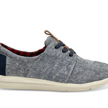 TOMS Del Rey Sneakers Blue Chambray