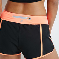Colorblock Woven Running Shorts