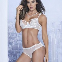 Honeymoon Getaway Bra & Panty Lingerie Set