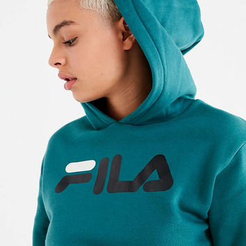 FILA Leah Cropped Hoodie | Urban Outfitters