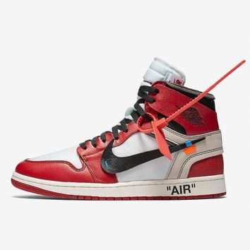 "Off-White x Air Jordan 1 ""The Ten"" Chicago - Best Deal Online"