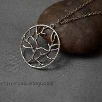 Silver Tree of life Necklace / Silver Chain / Tree pendant / Tree of life pendant / Tree Necklace / Branch necklace