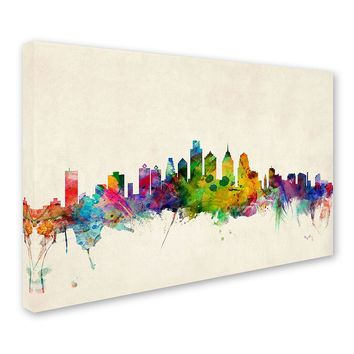 ''Philadelphia Pennsylvania'' Canvas Wall Art