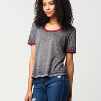 FULL TILT Essential Burnout Womens Tee | Knit Tops & Tees