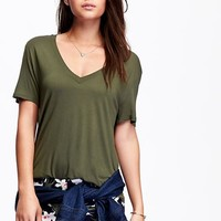 Old Navy Womens V Neck Tees